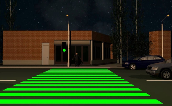 нано пешеходный переход