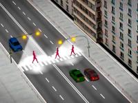 умных пешеходный переход