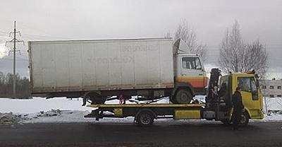 Грузовой эвакуатор в Минске