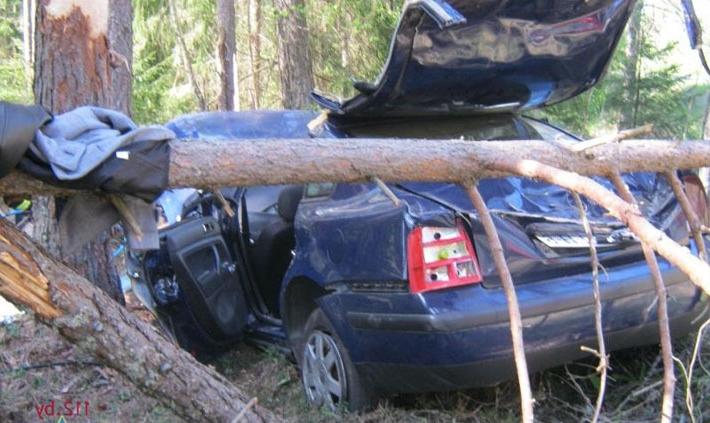 Авария Volkswagen
