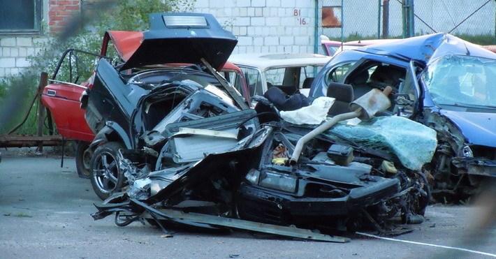 Авария BMW 3-Series