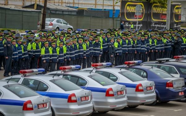 В Минск прибыли сотрудники ГАИ из других областей