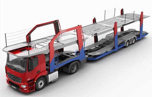 Автовоз для перевозки автомобилей