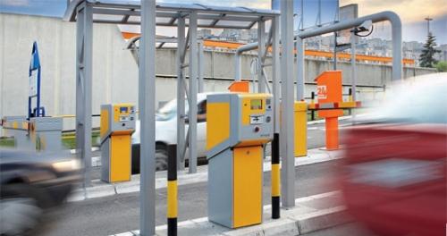 парковочные автоматы с шлагбаумом
