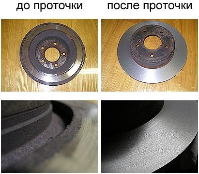 Проточка тормозных дисков в Минске