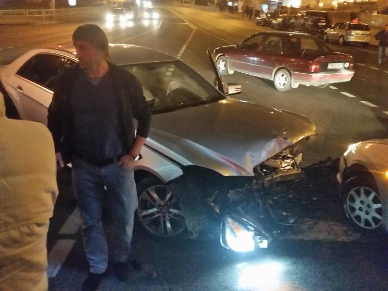Авария Mercedes-Benz Немига