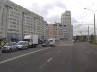 Видео ДТП на Игуменском тракте в Минске