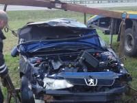 Эвакуация автомобиля Peugeot манипулятором