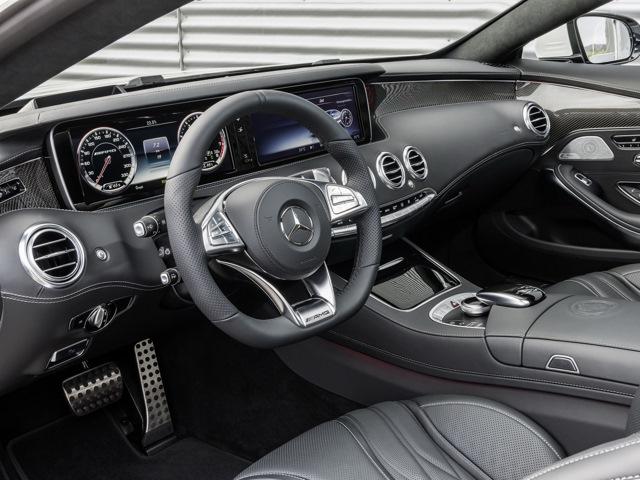Mercedes-Benz S Coupe 63 в AMG пакете