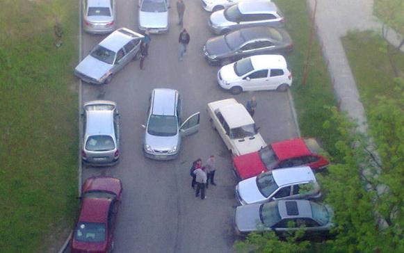 дтп при неудачной парковке