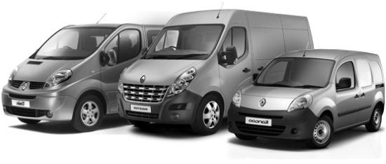 коммерческие варианты Renault
