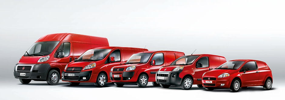 Модели Fiat для работы