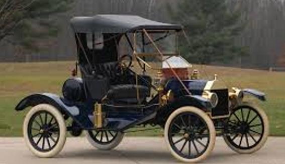 Первый автомобиль Ford T