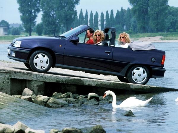 Opel Kadett Cabrio в Минске