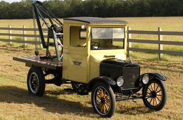 первый эвакуатор Ford Model T