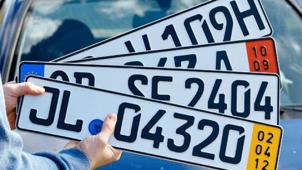 иностранные автомобильные номера