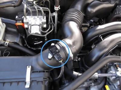 Расход воздуха в автомобиле