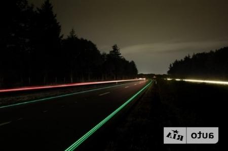 подсветка на дорогах Голландии