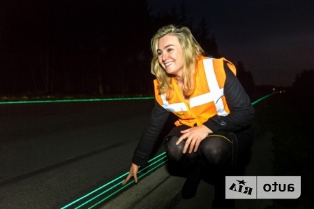 подсветка на дорогах