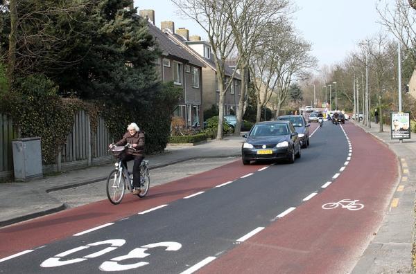 велосипедные дорожки нидерланды