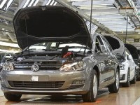 падение Volkswagen
