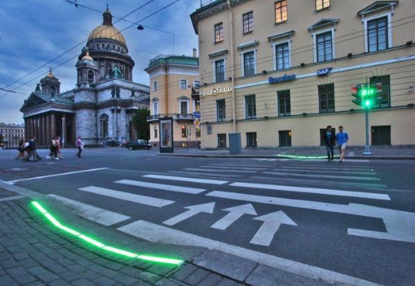 светодиодные ленты дублировать сигналы светофора