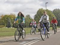 велосипедисты в Минске