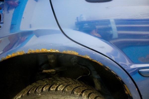 коррозии кузова автомобиля