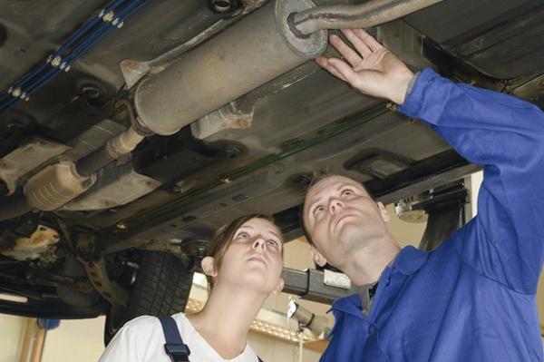 ремонт автомобильных глушителей