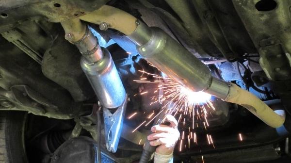 ремонт глушителей в минске