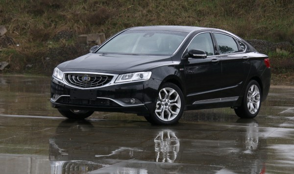 Geely Emgrand GT из Беларуси